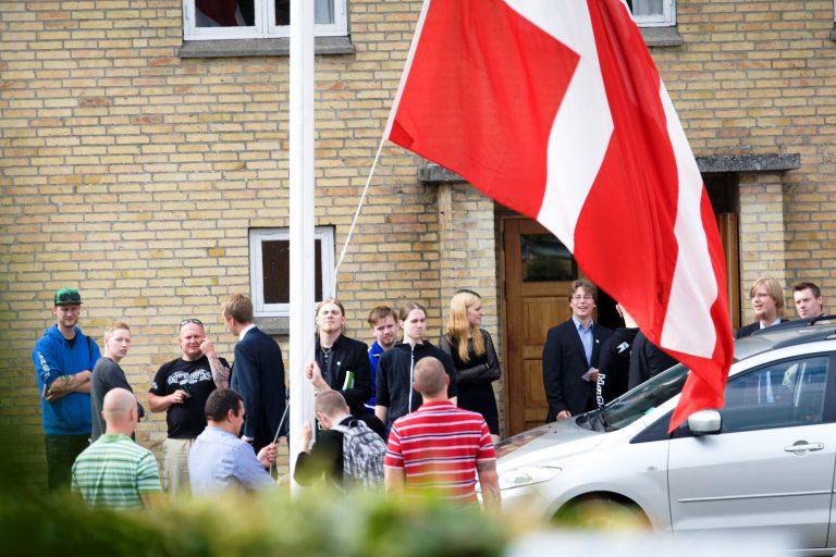 I 2013 afholdte Danskernes Parti deres landsmøde i Davinde Forsamlingshus på Fyn. (Foto: Redox)