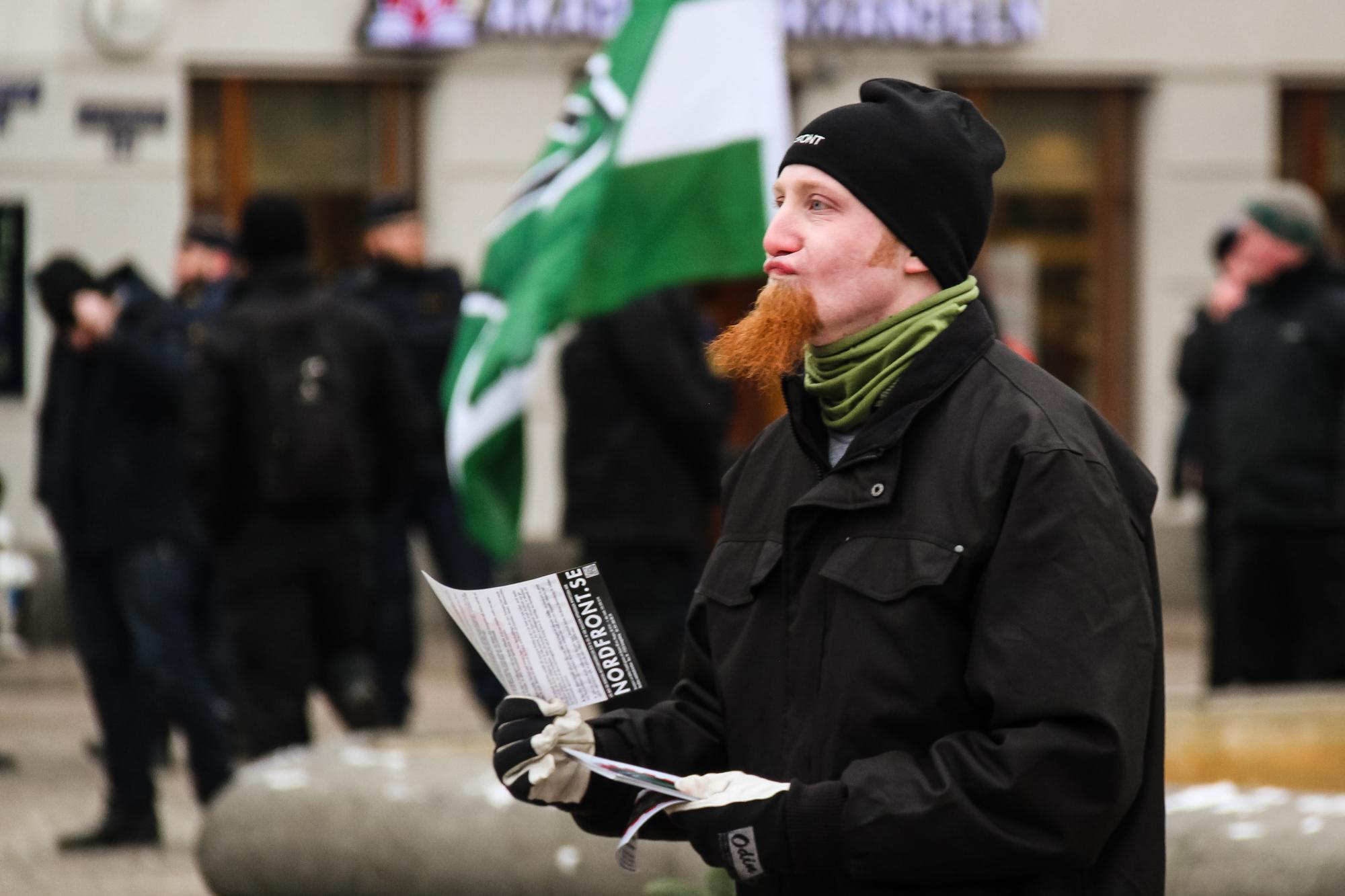 Göteborg er i dag en af de byer, hvor NMR er mest aktive. De har markeret sig offentligt i byen flere gange det seneste år og har en stor afdeling. Foto: Privat.