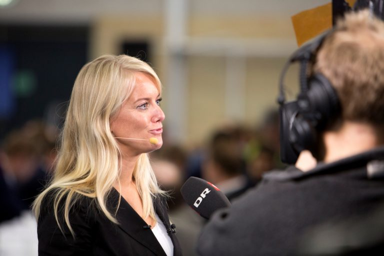 Pernille Vermund is the party leader of Nye Borgerlige.