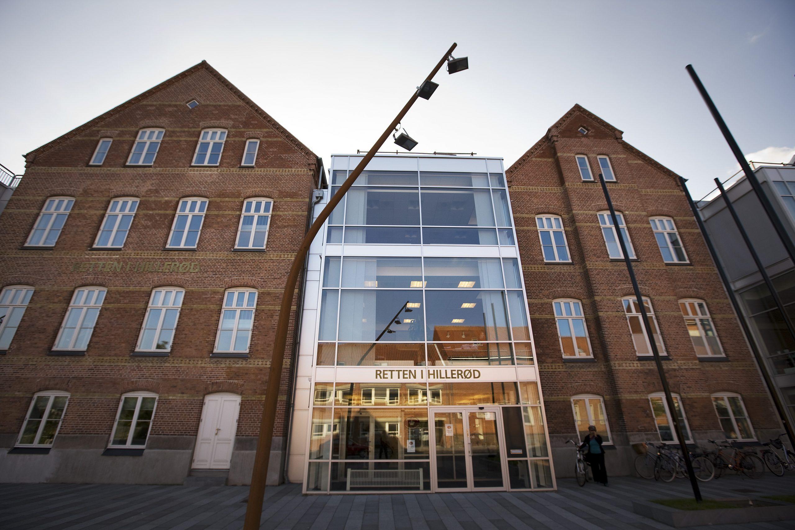 Retten i Hillerød lagde hus til sagen mod Jesper Rosendahl Gregersen. Pressefoto: Per Johansen.