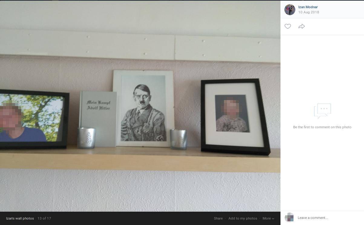 Jesper Rosendahl Gregersens husalter. Screenshot fra VK.