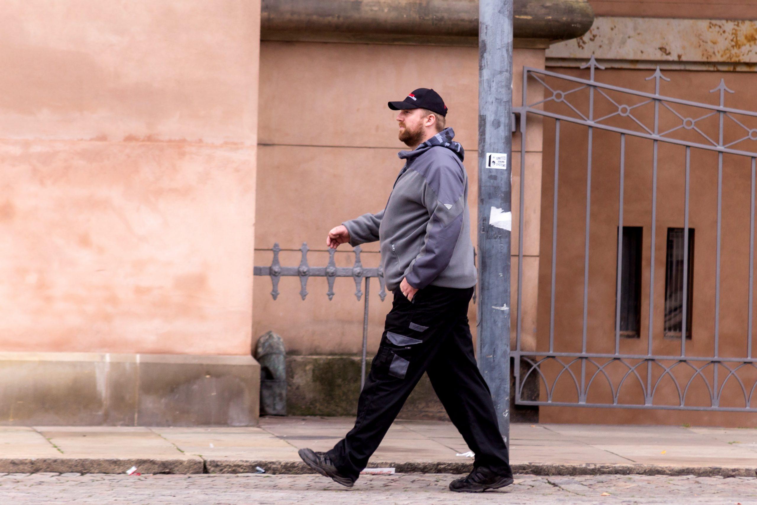 Julius Børgesen foran Københavns Byret i 2013. Foto: Redox.