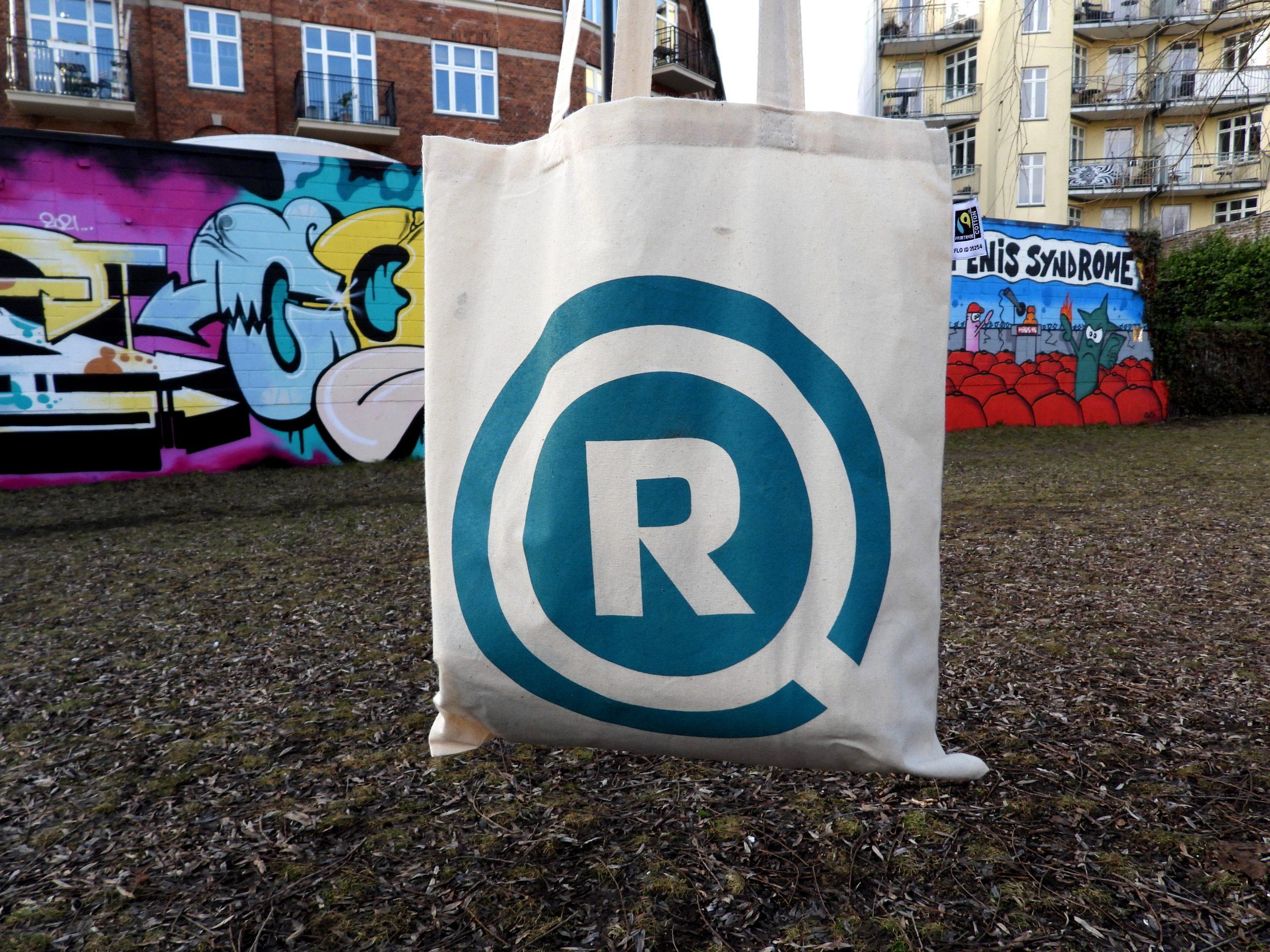 Redox' nye lækre økologiske fairtrade mulepose.