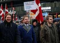 Rasmus Paludans første optræden på den yderste højrefløj var til den danske PEGIDA-bevægelse, For Friheds, demonstration den 23. januar 2016. Foto: Redox.